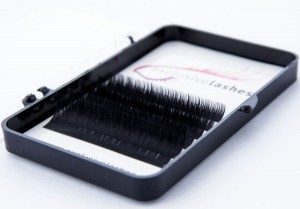 False mink eyelashes C curl 0.1 MINI PALETTE